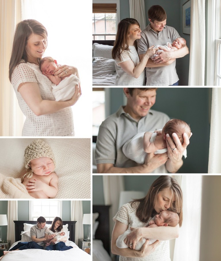 Natural newborn photographer in atlanta georgia