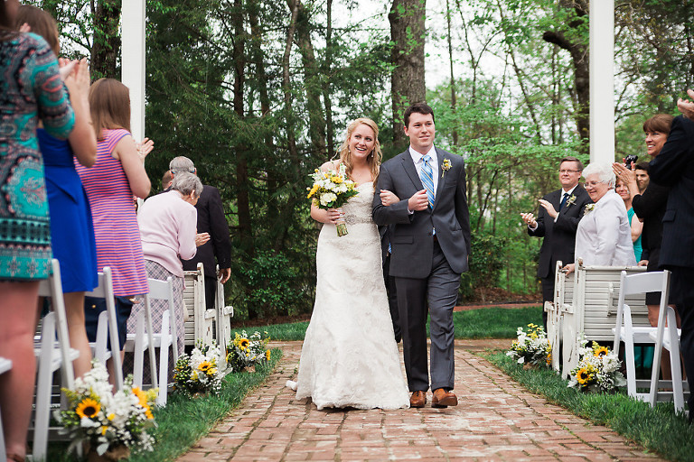 outdoor wedding in athens georgia