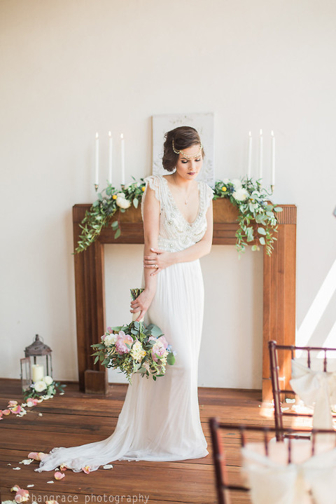Athens Atlanta Buford Wedding Photographer Vintage Bride