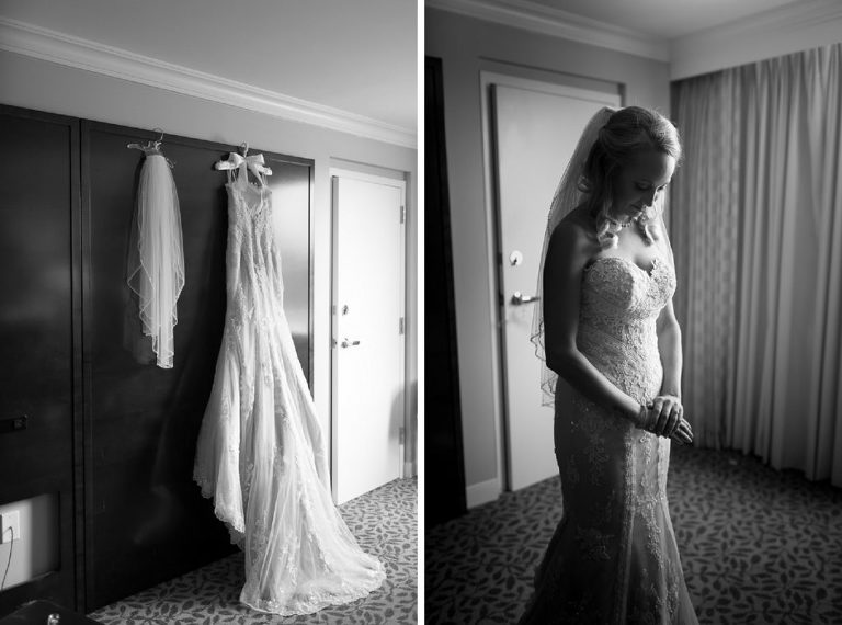 stunning bride black and white