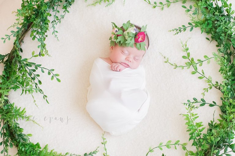Natural newborn baby photographer atlanta